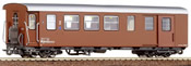Roco 34005 2nd Class Passenger Car plus Baggage compatment Mariazeller brown