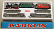 Marklin Minex Oe Gauge Beginners Set w/ Tank Locomotive