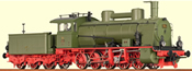 Brawa 40156 German Steam Locomotive Class Hh of the DB (DCC Sound Decoder)