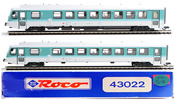 Roco 2pc Control Car Set 1/2 Class
