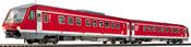 Fleischmann 4418 Diesel Railcar, Class 610 of the DB AG