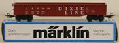 Marklin 4575 Dixie Line Open Wagon Gondola