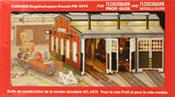 Fleischmann Roundhouse Locomotive Shed Kit