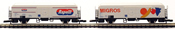 Marklin 8216 Migros / Rapelli Freight Car Set