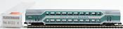 Fleischmann 968122 2nd Class Double Decker Passenger Coach