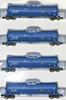 AZL 90501-1 - 4pc 23,000 Gallon Funnel Flow Tank Car of the CELX