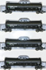 AZL 90504-1 - 4pc 23,000 Gallon Funnel Flow Tank Car of the CRGX