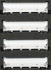 AZL - 4pc Bay Hopper Car Set of the FPCX