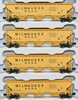 AZL 90913-1 - 4pc PS2-CD 4750 Hopper Car Set of the MILW