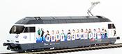HAG 280 Swiss Diesel Locomotive Re 4/4 Typ 460 of the SBB