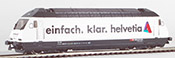 "Consignment HAG28290-32 HAG 28290-32 Swiss Hag HAG28260-32 Electric Locomotive Re 4/4 Typ 460 of the SBB ""Helvetia""(Sound)"