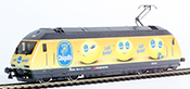 """Consignment HAG28411-32 HAG 28411-32 Swiss Electric Class Re 460 of the SBB """"Chiquita"""" (Sound)"""
