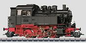 Marklin German Steam Locomotive class 80 of the DB (Sound)