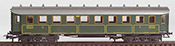 Marklin 4135 Marklin Passenger Car Green