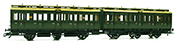 Marklin 4207 KPEV Double Compartment Cars