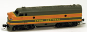 USA Diesel Locomotive F7 of the Great Northern – 268A
