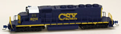 Micro Trains 97001011 USA Diesel Locomotive SD40-2 of the CSX Transportation - 8014
