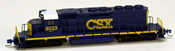 Micro Trains 97001012 USA Diesel Locomotive SD40-2 of the CSX Transportation - 8033