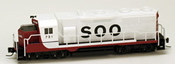 Micro Trains 98101072 USA Diesel Locomotive GP35 of the SOO - 731