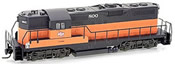 Micro Trains 98201041 USA Diesel Locomotive GP9 of the Milwaukee Road – 800