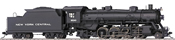 Trix 22801 USA Steam Locomotive RP 25 04 Light Mikado of the NYC