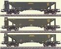 Trix 23500 Coal Hopper 3 Car Set