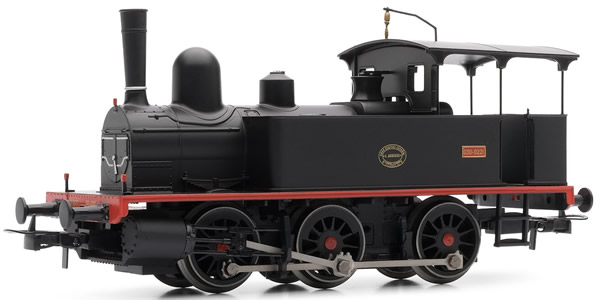 """Electrotren E0043 - Spanish Steam Locomotive """"L.Aguirre"""" 0221 of the RENFE"""