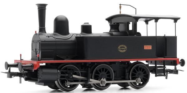 "Electrotren E0044 - Spanish Steam Locomotive ""E.Otlet"" 0219 of the RENFE"