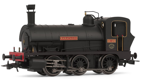 Electrotren E0049 - Spanish Steam Locomotive 030 Baracaldos in new livery of the RENFE
