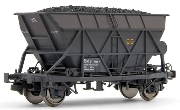 Electrotren E0922 - Hopper Wagon, weathered, with coal load