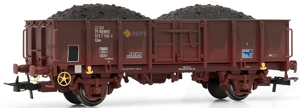 Electrotren E1261 - Gondola, weathered with coal load