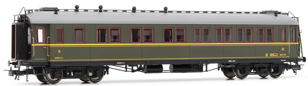 Electrotren E15014 - 2nd and 3rd Class Passenger Coach BBC 317