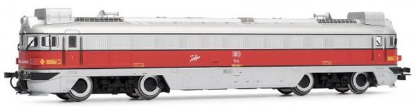 "Electrotren E2325 - Spanish Diesel Locomotive 353.001 ""Virgen de Lourdes"" of the RENFE"