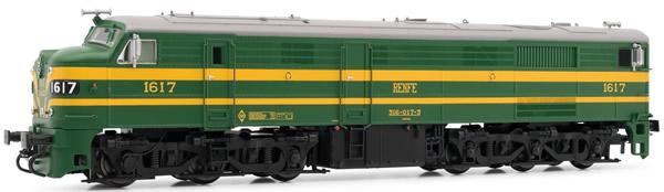 Electrotren E2413 - Spanish Diesel Locomotive 316.017 of the RENFE