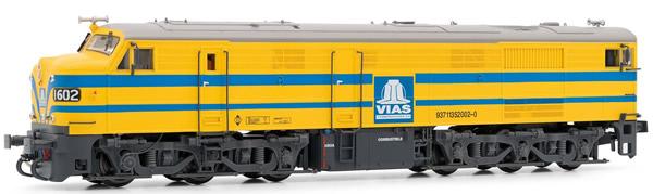 "Electrotren E2415 - Spanish Diesel Locomotive 316 ""Vias"" of the RENFE"