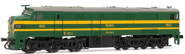 Electrotren E2456 - Spanish Diesel Locomotive 318.002 of the RENFE