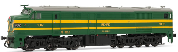 Electrotren E2456 - Spanish Diesel Locomotive 318.002 of the RENFE