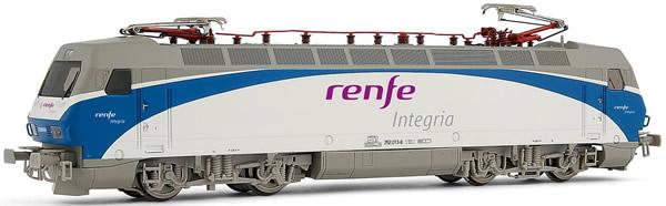 Electrotren E2523 - Spanish Electric Locomotive 252.013 Renfe integria of the RENFE