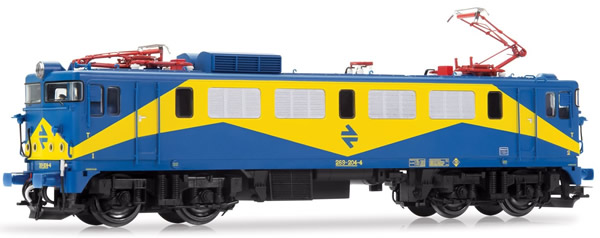 "Electrotren E2640S - Spanish Electric Locomotive 269-204-4 ""Mazinger"" of the RENFE (DCC Sound Decoder)"