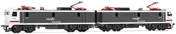 Electrotren E2696 - Spanish Electric Locomotive Tandem 289.101 of the RENFE Mercancias