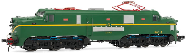 Electrotren E2763S - Spanish Electric Locomotive 277.047 of the RENFE (DCC Sound Decoder)