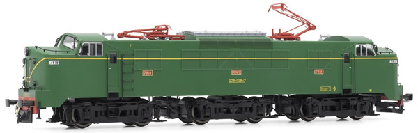 Electrotren E3033S - Spanish Electric Locomotive 278-018-7 of the RENFE (DCC Sound Decoder)