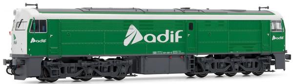 Electrotren E3115 - Spanish Diesel Locomotive 321.051  ADIF of the RENFE