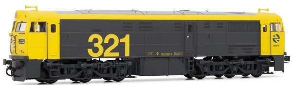 Electrotren E3119S - Spanish Diesel Locomotive 321.025 of the RENFE (DCC Sound Decoder)