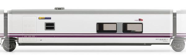 Electrotren E3275 - Cafeteria Coach Talgo Elipsos Renfe-SNCF