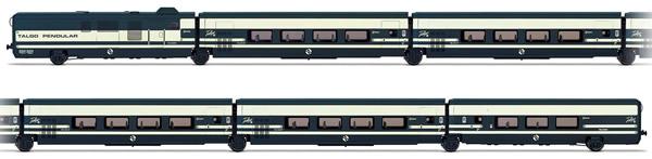 Electrotren E3279 - 6pc Talgo Pendular Base Set