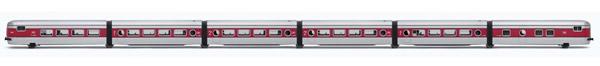 Electrotren E3341 - 6pc Base Set Talgo III