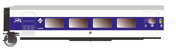 """Electrotren E3346 - 1st Class Passenger Coach Talgo Pendular """"Largo Recorrido"""""""