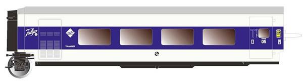 """Electrotren E3347 - 2nd Class Passenger Coach Talgo Pendular """"Largo Recorrido"""""""