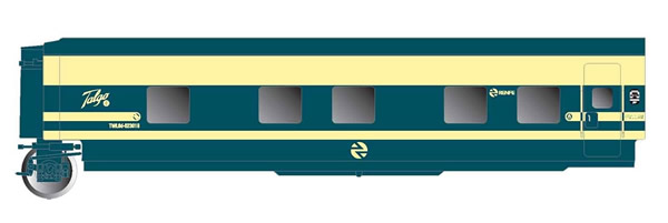 Electrotren E3352 - Sleeping Coach Trenhotel Talgo